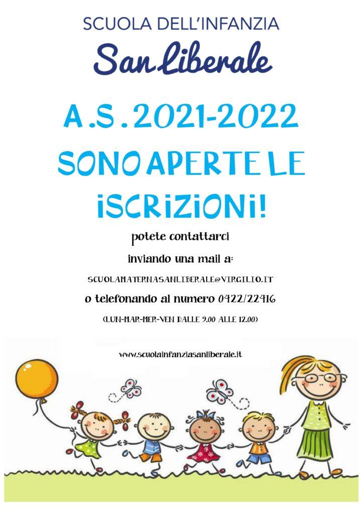 Iscrizoni 2021